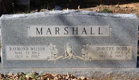 ROBISON MARSHALL, DOROTHY DODD - Tarrant County, Texas | DOROTHY DODD ROBISON MARSHALL - Texas Gravestone Photos