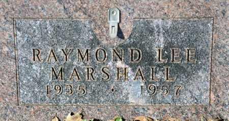 MARSHALL, RAYMOND LEE - Tarrant County, Texas | RAYMOND LEE MARSHALL - Texas Gravestone Photos