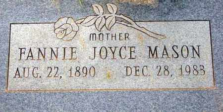 MASON, FANNIE JOYCE - Tarrant County, Texas | FANNIE JOYCE MASON - Texas Gravestone Photos