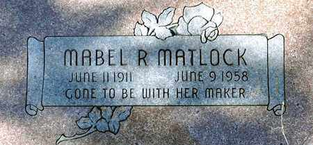 MATLOCK, MABEL RUTH - Tarrant County, Texas | MABEL RUTH MATLOCK - Texas Gravestone Photos
