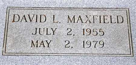 MAXFIELD, DAVID LAWRENCE - Tarrant County, Texas | DAVID LAWRENCE MAXFIELD - Texas Gravestone Photos