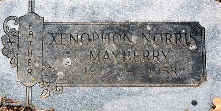MAYBERRY, XENOPHON NORRIS - Tarrant County, Texas | XENOPHON NORRIS MAYBERRY - Texas Gravestone Photos