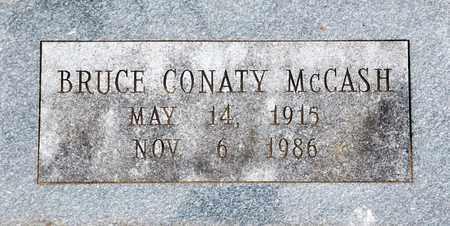 MCCASH, BRUCE CONATY - Tarrant County, Texas | BRUCE CONATY MCCASH - Texas Gravestone Photos