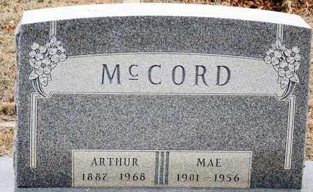 MCCORD, ARTHUR JUSTICE - Tarrant County, Texas | ARTHUR JUSTICE MCCORD - Texas Gravestone Photos