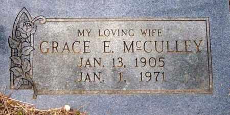 MCCULLEY, GRACE EMMA - Tarrant County, Texas   GRACE EMMA MCCULLEY - Texas Gravestone Photos