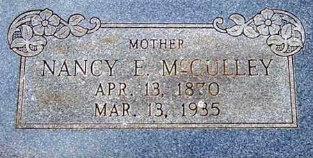 SCOTT MCCULLEY, NANCY ELIZABETH - Tarrant County, Texas | NANCY ELIZABETH SCOTT MCCULLEY - Texas Gravestone Photos