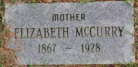 MCCURRY, ELIZABETH - Tarrant County, Texas | ELIZABETH MCCURRY - Texas Gravestone Photos