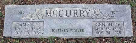 MCCURRY, GERTRUDE - Tarrant County, Texas | GERTRUDE MCCURRY - Texas Gravestone Photos