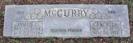 BLANKENSHIP MCCURRY, GERTRUDE - Tarrant County, Texas | GERTRUDE BLANKENSHIP MCCURRY - Texas Gravestone Photos