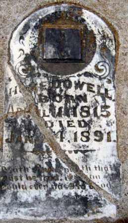 MCDOWELL, JAMES HAMILTON - Tarrant County, Texas   JAMES HAMILTON MCDOWELL - Texas Gravestone Photos