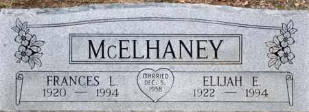 REYNOLDS MCELHANEY, FRANCES LEON - Tarrant County, Texas | FRANCES LEON REYNOLDS MCELHANEY - Texas Gravestone Photos