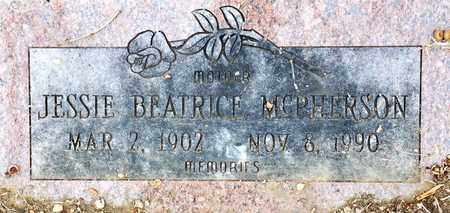 MCPHERSON, JESSIE BEATRICE - Tarrant County, Texas | JESSIE BEATRICE MCPHERSON - Texas Gravestone Photos