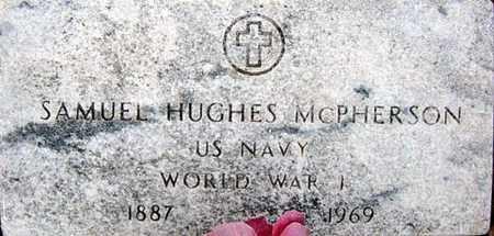 MCPHERSON (VETERAN WWII), SAMUEL HUGHES - Tarrant County, Texas   SAMUEL HUGHES MCPHERSON (VETERAN WWII) - Texas Gravestone Photos