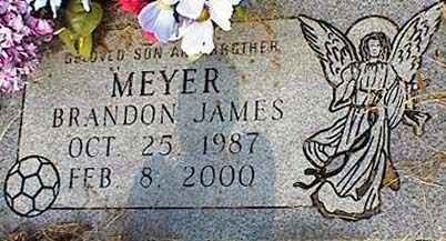 MEYER, BRANDON JAMES - Tarrant County, Texas | BRANDON JAMES MEYER - Texas Gravestone Photos