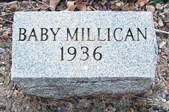 MILLICAN, BABY - Tarrant County, Texas | BABY MILLICAN - Texas Gravestone Photos