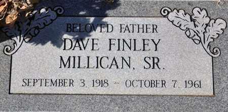 MILLICAN, DAVE FINLEY, SR - Tarrant County, Texas | DAVE FINLEY, SR MILLICAN - Texas Gravestone Photos