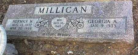 MILLICAN, HERMAN WARREN - Tarrant County, Texas | HERMAN WARREN MILLICAN - Texas Gravestone Photos
