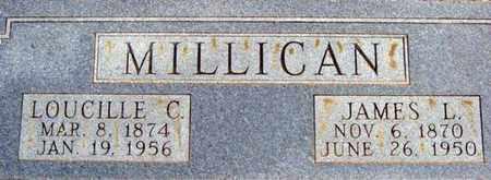 MILLICAN, LOUCILLE C - Tarrant County, Texas | LOUCILLE C MILLICAN - Texas Gravestone Photos