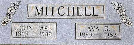 MITCHELL, JOHN JACOB - Tarrant County, Texas | JOHN JACOB MITCHELL - Texas Gravestone Photos