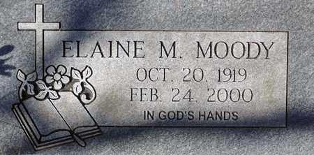 MITCHELL MOODY, ELAINE - Tarrant County, Texas   ELAINE MITCHELL MOODY - Texas Gravestone Photos