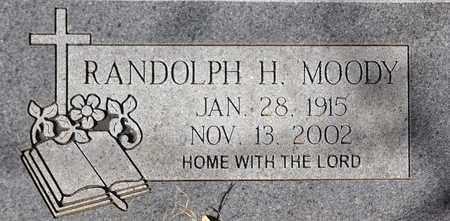 MOODY, RANDOLPH H - Tarrant County, Texas   RANDOLPH H MOODY - Texas Gravestone Photos
