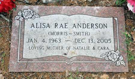 ANDERSON MORRIS-SMITH, ALISA RAE - Tarrant County, Texas | ALISA RAE ANDERSON MORRIS-SMITH - Texas Gravestone Photos