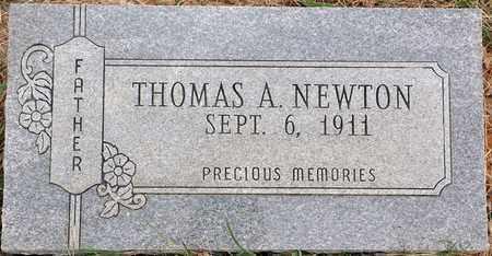 NEWTON, THOMAS A - Tarrant County, Texas | THOMAS A NEWTON - Texas Gravestone Photos