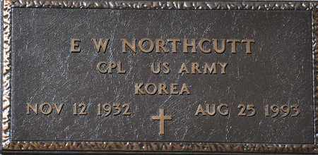 NORTHCUTT (VETERAN KOR), E W - Tarrant County, Texas | E W NORTHCUTT (VETERAN KOR) - Texas Gravestone Photos