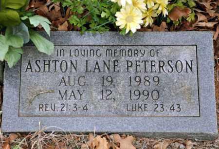 PETERSON, ASHTON LANE - Tarrant County, Texas   ASHTON LANE PETERSON - Texas Gravestone Photos
