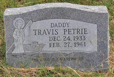 PETRIE, TRAVIS - Tarrant County, Texas | TRAVIS PETRIE - Texas Gravestone Photos