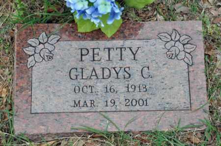 PETTY, GLADYS C - Tarrant County, Texas | GLADYS C PETTY - Texas Gravestone Photos