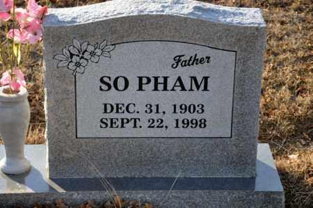 PHAM, SO - Tarrant County, Texas | SO PHAM - Texas Gravestone Photos