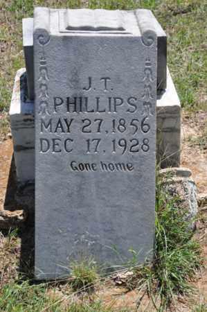 PHILLIPS, J T - Tarrant County, Texas | J T PHILLIPS - Texas Gravestone Photos