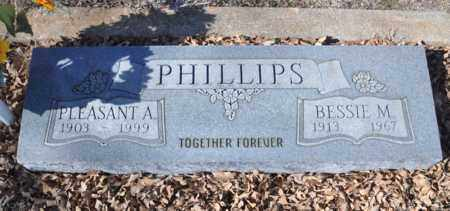 PHILLIPS, PLEASANT ANTHONY - Tarrant County, Texas   PLEASANT ANTHONY PHILLIPS - Texas Gravestone Photos