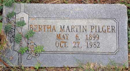 MARTIN PILGER, BERTHA - Tarrant County, Texas   BERTHA MARTIN PILGER - Texas Gravestone Photos