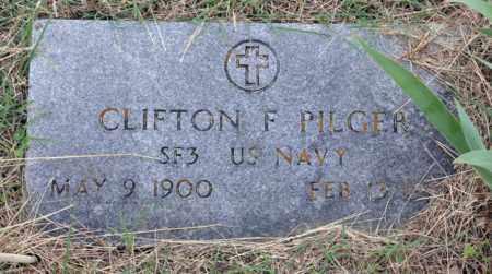 PILGER (VETERAN), CLIFTON F - Tarrant County, Texas   CLIFTON F PILGER (VETERAN) - Texas Gravestone Photos