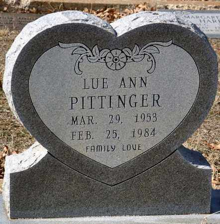 PITTINGER, LUE ANN - Tarrant County, Texas | LUE ANN PITTINGER - Texas Gravestone Photos