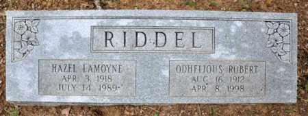 LAMOYNE RIDDEL, HAZEL - Tarrant County, Texas | HAZEL LAMOYNE RIDDEL - Texas Gravestone Photos