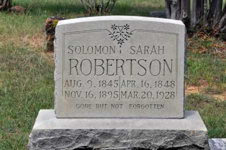 SEXTON ROBERTSON, SARAH ANN - Tarrant County, Texas | SARAH ANN SEXTON ROBERTSON - Texas Gravestone Photos