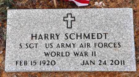 SCHMEDT (VETERAN WWII), HARRY - Tarrant County, Texas | HARRY SCHMEDT (VETERAN WWII) - Texas Gravestone Photos