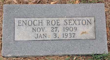 SEXTON, ENOCH ROE - Tarrant County, Texas | ENOCH ROE SEXTON - Texas Gravestone Photos