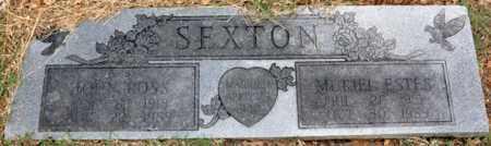 ESTES SEXTON, MURIEL - Tarrant County, Texas | MURIEL ESTES SEXTON - Texas Gravestone Photos