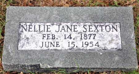 SEXTON, NELLIE JANE - Tarrant County, Texas | NELLIE JANE SEXTON - Texas Gravestone Photos