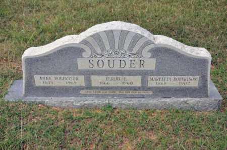 ROBERTSON SOUDER, MARYETTA - Tarrant County, Texas   MARYETTA ROBERTSON SOUDER - Texas Gravestone Photos