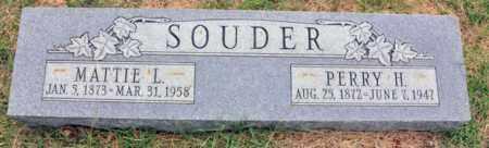 SOUDER, PERRY H - Tarrant County, Texas | PERRY H SOUDER - Texas Gravestone Photos