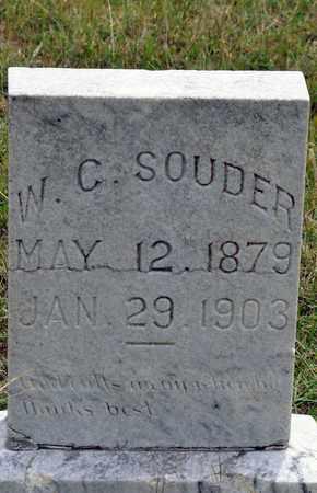 SOUDER, W C - Tarrant County, Texas   W C SOUDER - Texas Gravestone Photos