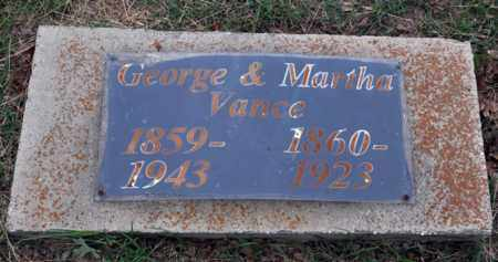VANCE, MARTHA - Tarrant County, Texas | MARTHA VANCE - Texas Gravestone Photos