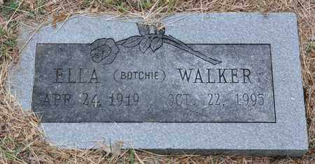 "WALKER, ELLA ""BOTCHIE"" - Tarrant County, Texas | ELLA ""BOTCHIE"" WALKER - Texas Gravestone Photos"
