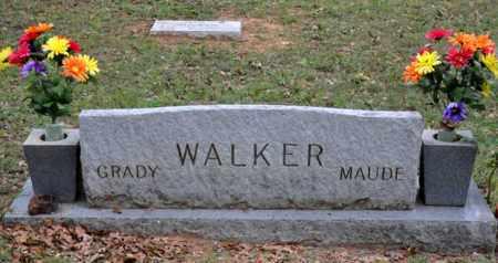 WALKER, MAUDE - Tarrant County, Texas | MAUDE WALKER - Texas Gravestone Photos