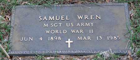 WREN (VETERAN WWII), SAMUEL - Tarrant County, Texas | SAMUEL WREN (VETERAN WWII) - Texas Gravestone Photos